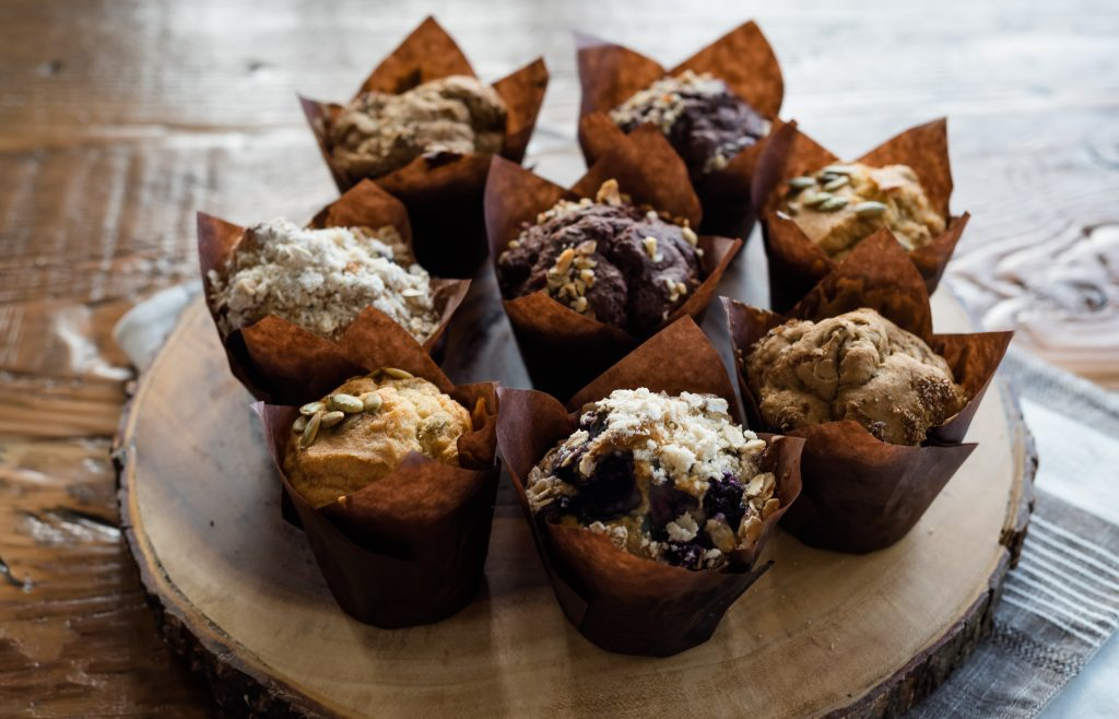 Delicious Muffins- Natural World Market & Cafe